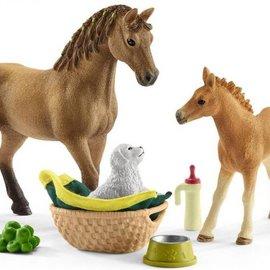 Schleich Schleich 42432 Babydieren verzorgingsset