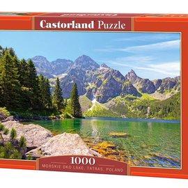 Castorland Castorland Morskie Oko lake, Tatras, Polen (1000 stukjes)