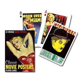 Piatnik Movie Poster speelkaarten - single Deck