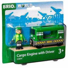 Brio Brio 33894 Vrachtlocomotief met machinist