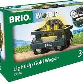 Brio Brio 33896 Verlichte goud wagon