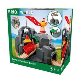 Brio Brio 33889 Kraan en bergtunnel