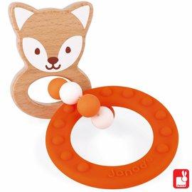 Janod Janod baby pop - bijtring vos
