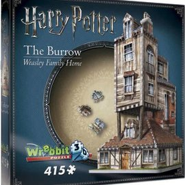 Wrebbit Wrebbit 3D puzzel Harry Potter - The Burrow (415 stukjes)