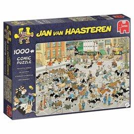 Jumbo Jan van Haasteren - De veemarkt (2000 stukjes)