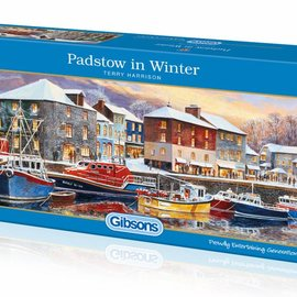 Gibsons Gibsons puzzel Padstow in Winter (636 stukjes)