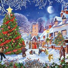 Gibsons Gibsons The Village Christmas Tree (1000 stukjes)