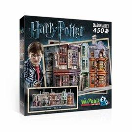 Wrebbit Wrebbit 3D puzzel Harry Potter - Diagon Valley (450 stukjes)