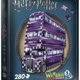 Wrebbit Wrebbit 3D puzzel Harry Potter - The Knight Bus (280 stukjes)