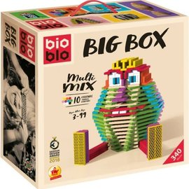 Bioblo Bioblo - Big Box Multi mix (340 stenen, 10 kleuren)