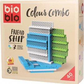 Bioblo Bioblo - Vriendschap kleuren combi (40 stenen, 3 kleuren)