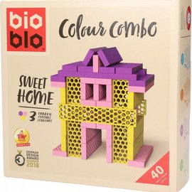 Bioblo Bioblo - Sweet home (40 stenen, 3 kleuren)