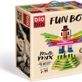 Bioblo Bioblo Multi Mix (200 stenen, 10 kleuren)