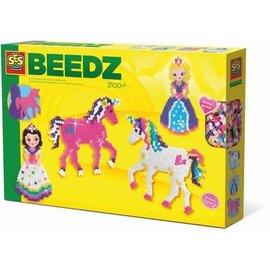 SES SES Beedz - Strijkkralen Eenhoorns en Prinsesjes