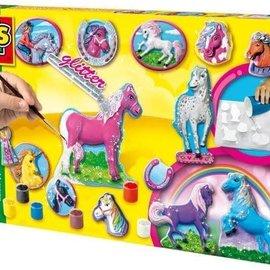 SES SES Gieten en schilderen paarden fantasy