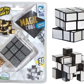 Clown Games Magic Cube zilver 3D