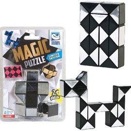 Clown Games Magic puzzel 24 st. Zilver