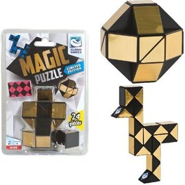 Clown Games Magic Puzzel 24 st. Goud