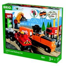 Brio Brio 33165 Laden en lossen spoorbaan set