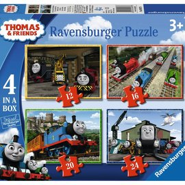Ravensburger Ravensburger puzzel Thomas & Friends (12, 16, 20 en 24 stukjes)