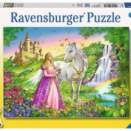 Ravensburger Ravensburger puzzel Prinses met paard (200 XXL stukjes)
