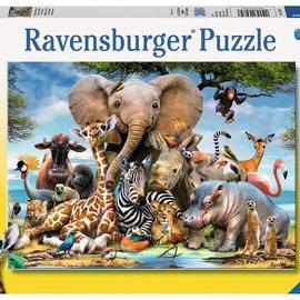 Ravensburger Ravensburger puzzel Afrikaanse vrienden (300 XXL stukjes)