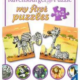 Ravensburger Ravensburger puzzel Mijn eerste puzzels - Schattige dierenfamilies (9 x 2 stukjes)