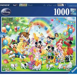 Ravensburger Ravensburger Disney Mickey Mousse Mickey is jarig (1000 stukjes)