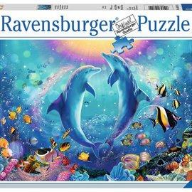 Ravensburger Ravensburger puzzel Dansende dolfijnen (500 stukjes)