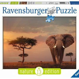 Ravensburger Ravensburger puzzel Olifant in het Masai Mara National Park (1000 stukjes)