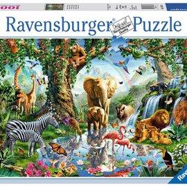 Ravensburger Ravensburger puzzel Avonturen in de jungle (1000 stukjes)