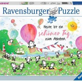 Ravensburger Ravensburger puzzel Een mooie dag om op te stijgen (1000 stukjes)