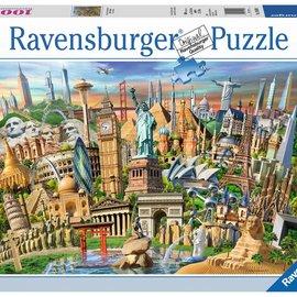 Ravensburger Ravensburger puzzel Bezienswaardigheden wereldwijd (1000 stukjes)