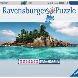 Ravensburger Ravensburger panorama puzzel Aan vakantie toe op île St. Pierre (1000 stukjes)