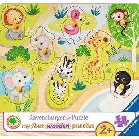 Ravensburger Ravensburger Houten puzzel Mijn eerste houten puzzel - In de dierentuin