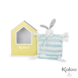 Kaloo Kaloo Bebe pastel Doudou konijn blauw/wit