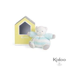Kaloo Kaloo Bebe Pastel knuffelbeer blauw/wit klein