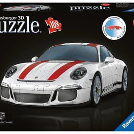 Ravensburger Ravensburger 3D puzzel Porsche 911 R (108 stukjes)