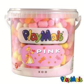 Playmais PlayMais Basic 500 emmer Roze