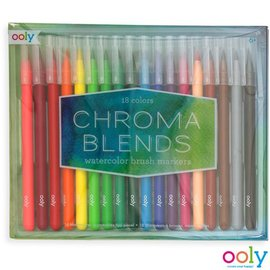 Ooly Ooly - Chroma blends watercolor brush markers