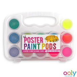 Ooly Ooly - Poster paint pods, glitter en neon