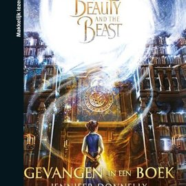 Boek Disney Beauty and the beast - Gevangen in een boek