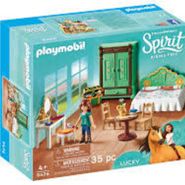 Playmobil Playmobil - Lucky's slaapkamer (9476)