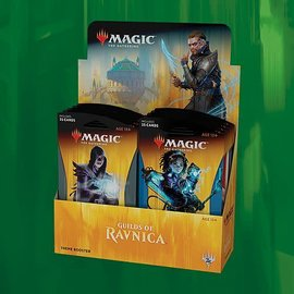 Magic The Gathering MTG GRN Guilds of Ravnica thema booster