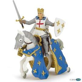 Papo Papo Saint Louis en zijn paard