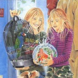 Boek De olijke tweeling helpt mee (3cds) luisterboek