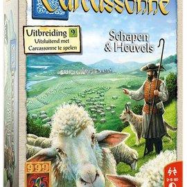 999 Games 999 Games Carcassonne: Schapen en Heuvels (uitbreiding 9)