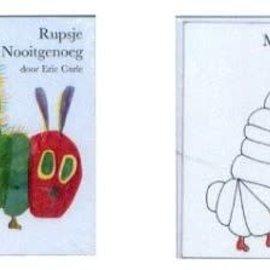 Boek Rupsje Nooitgenoeg prentenboek en kleurboek