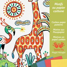 Djeco Djeco 8608 Motieven op carbonpapier - Wandeling in de natuur