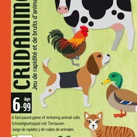 Djeco Djeco 5109 Kaartspel -  Snel spel met dierengeluiden